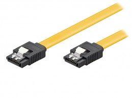Kabel SATA III 6Gb/s Powertech 0,5m - Foto1