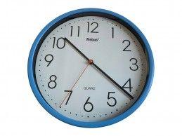 Zegar ścienny Mebus H366-BU 25cm niebieski - Foto1