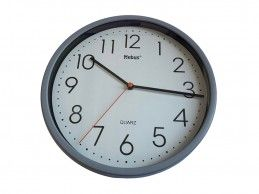 Zegar ścienny Mebus H366-GY 25cm szary - Foto1