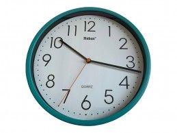 Zegar ścienny Mebus H366-GR 25cm zielony turkusowy - Foto1