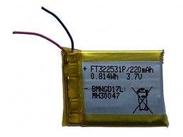 Akumulator Li-po 3,7V 220mAh FT322531P - Foto2