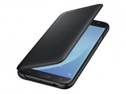 Etui Samsung Wallet Cover Galaxy J7 (2017) Black - Foto1