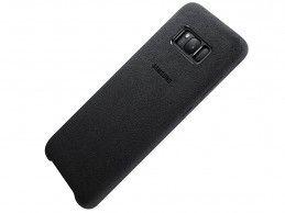 Etui Samsung Galaxy S8 Plus Alcantara Cover Black - Foto1