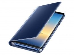 Etui Samsung Galaxy Note 8 Clear View Standing Cover Blue - Foto1