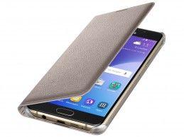 Etui Samsung Flip Wallet Galaxy A5 (2016) Gold - Foto1