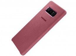 Etui Samsung Galaxy Note 8 Alcantara Pink - Foto1