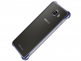 Etui Samsung Galaxy A5 (2016) Clear Cover Black/Blue - Foto1