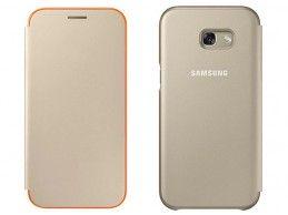 Etui Samsung Galaxy A5 (2017) Neon Flip Cover Gold - Foto3