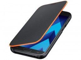 Etui Samsung Galaxy A3 (2017) Neon Flip Cover Black - Foto1