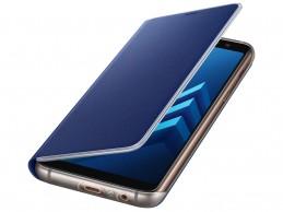 Etui Samsung Galaxy A8 (2018) Neon Flip Cover Blue - Foto1