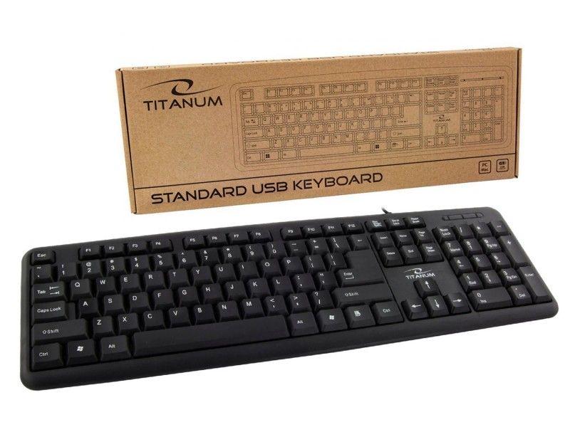 Klawiatura USB Titanum TK101 QWERTY - Foto1