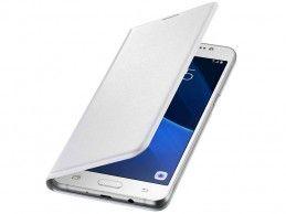 Etui Samsung Galaxy J3 (2016) Flip Wallet Cover White - Foto1
