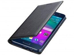 Etui Samsung Galaxy A3 Flip Cover Charcoal Black - Foto1
