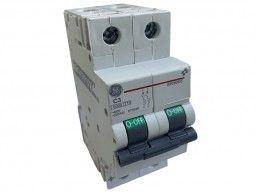 Wyłącznik nadprądowy 2P 3A C 10kA GE EP102UCC03 Redline 673320 - Foto1