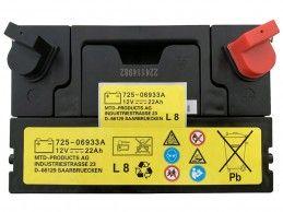 Akumulator MTD 12V 22Ah 230A 725-06933A - Foto1
