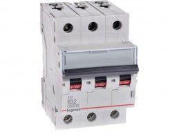 Wyłącznik nadprądowy 32A LEGRAND S303 TX3 B32 3P 403405 - Foto1