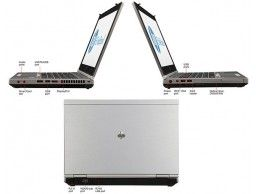 HP Elitebook 8470p i7-3520M 8GB 256SSD (1TB) WWAN - Foto4