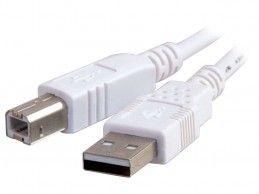 Kabel USB 2.0 A-B 1,8m white - Foto1