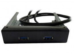 """Panel PC 2x USB 3.0 3,5"""" 19-pin wewnętrzny - Foto2"""