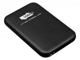 Dysk zewnętrzny HDD USB 3.0 320GB BP Black - Foto1