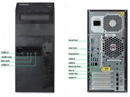 Lenovo ThinkCentre M82 i3-3240 8GB 240SSD (1TB) - Foto2