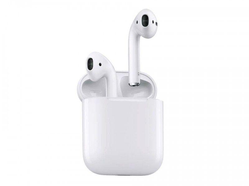 Słuchawki APPLE AirPods MMEF2ZM/A Bluetooth - Foto1