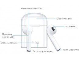 Słuchawki APPLE AirPods MMEF2ZM/A Bluetooth - Foto6