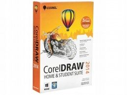CorelDRAW Home & Student SUITE 2014 PL BOX
