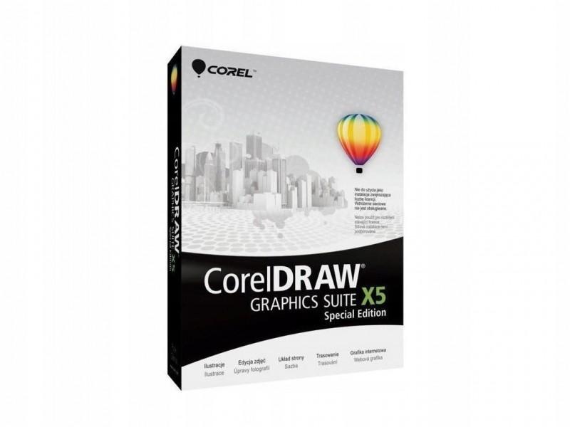 CorelDRAW Graphics SUITE X5 SE DE BOX - Foto1