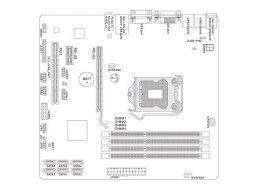 MSI B75MA-P45 + i3-3420 + Cooler - Foto5