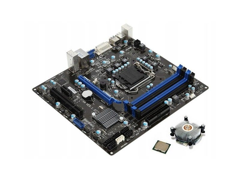 MSI B75MA-P45 + i3-3420 + Cooler - Foto1