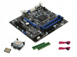 MSI B75MA-P45 + i5 + 8GB DDR3 + Cooler - Foto1