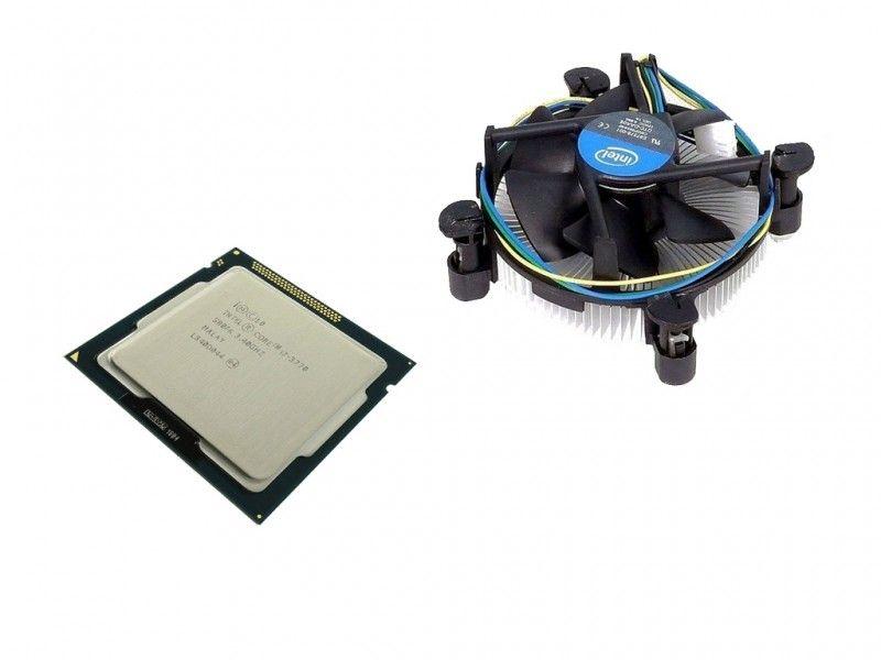Intel Core i7-3770 3.90 GHz + chłodzenie + pasta - Foto1