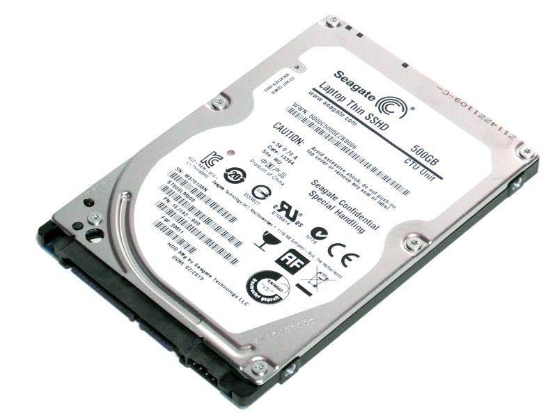 """Seagate SSHD ST500LM000 500GB + 8GB 2,5"""" - Foto1"""