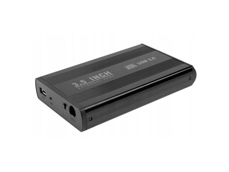 """Dysk zewnętrzny HDD USB 2.0 500GB 3,5"""" - Foto1"""