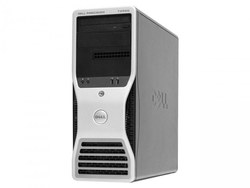 Komputer do gier Dell Precision T3500 W3530 6GB 120SSD+1TB GT730 - Foto1