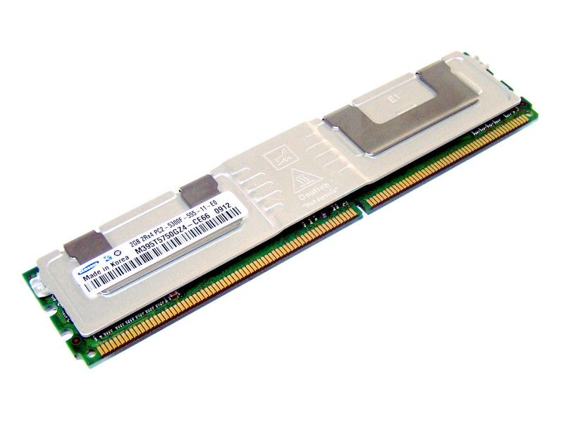 RAM Samsung FB-DIMM 2GB PC2-5300 ECC M395T5750GZ4-CE66 - Foto1