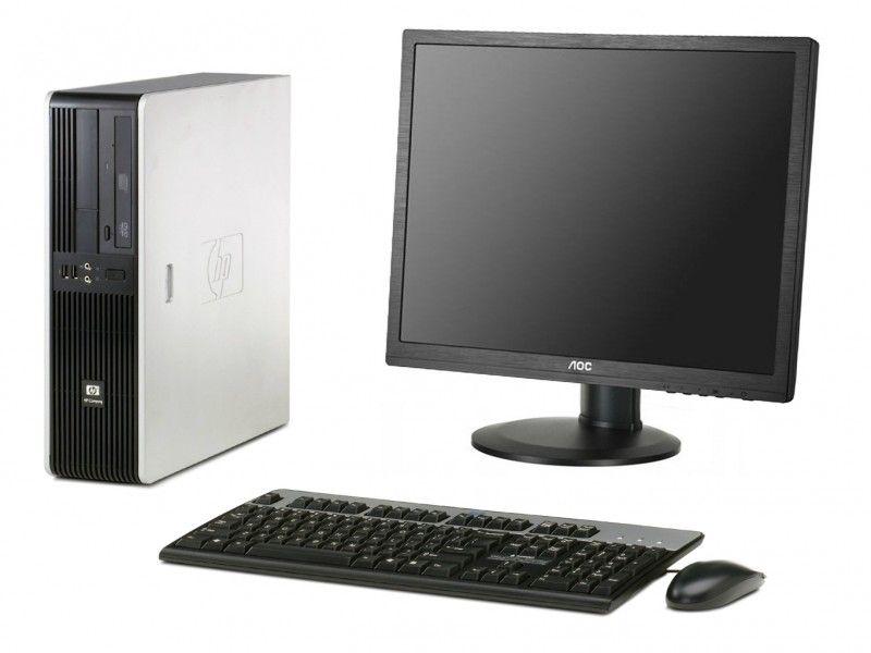 "Zestaw komputerowy HP z monitorem 19"" AOC - Foto1"