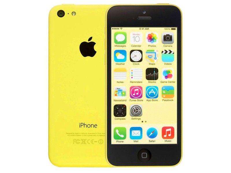 Apple iPhone 5c 16GB Żółty + GRATIS - Foto1
