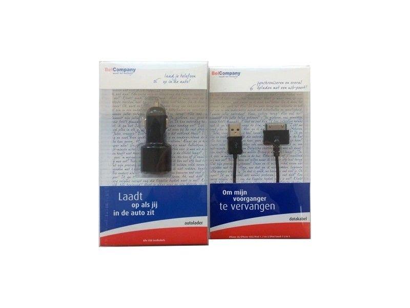 Ładowarka samochodowa USB Apple 30-pin iPhone 3G 4S iPad iPod - Foto1