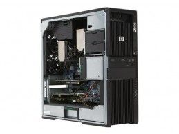 HP Z600 2xE5520 24GB 120SSD+500GB Quadro 600 - Foto4