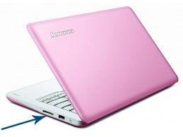 Obudowa dolna Lenovo IdeaPad S206 różowa - Foto3