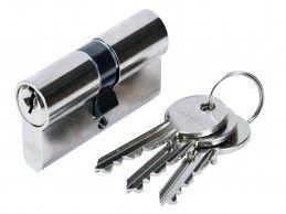 Wkładka bębenkowa Abus E45N 25/25 3 klucze Nikiel - Foto1