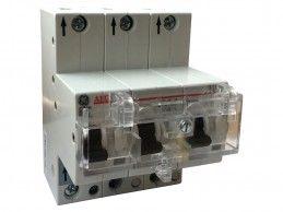 Wyłącznik nadprądowy selektywny 3P Cs 20A 25kA GE S91.3Cs20 (672491) - Foto1
