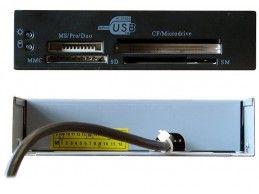 """Multimedialny czytnik kart pamięci USB 3,5"""" wewnętrzny - Foto2"""