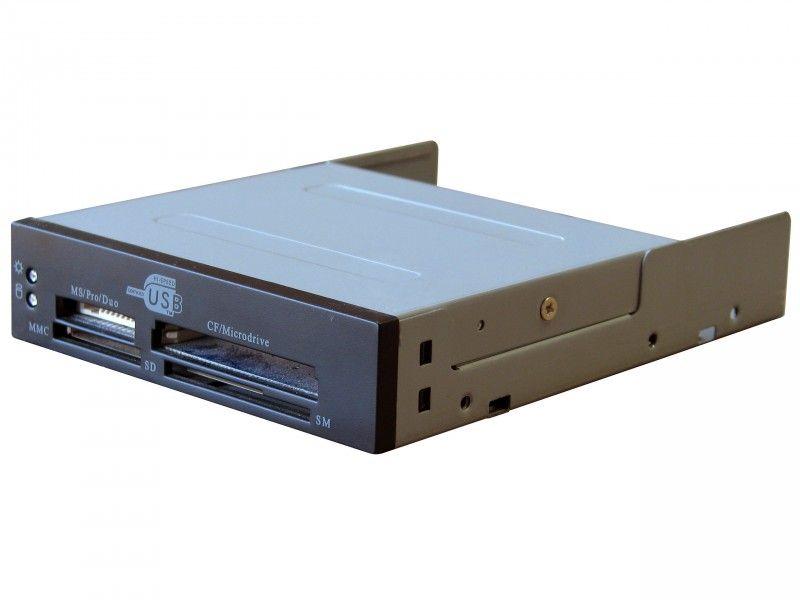 """Multimedialny czytnik kart pamięci USB 3,5"""" wewnętrzny - Foto1"""
