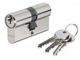 Wkładka bębenkowa Abus E45N 40/50 3 klucze Nikiel - Foto1