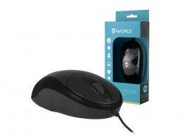 Mysz optyczna 4World Basic Line Large USB - Foto1