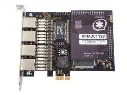 Digium Wildcard TE420 BRI/BRA + Filtr VPMOCT128 Asterisk VoIP - Foto1