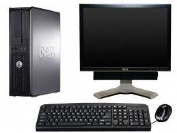 """Zestaw komputerowy Dell 780 DT z monitorem 19"""" i głośnikami - Foto1"""